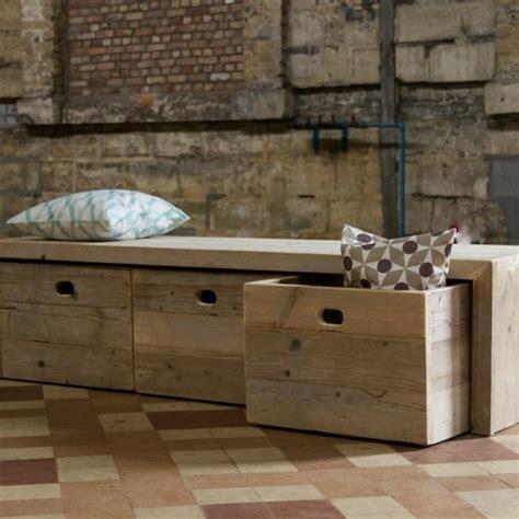 bureau fer forgé le banc de rangement un meuble fonctionnel qui