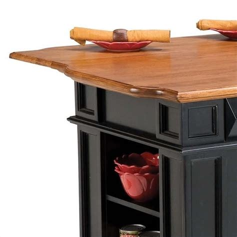 home styles kitchen island with breakfast bar home styles island w breakfast bar black kitchen cart