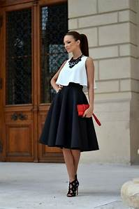 How To Wear Full Skirts In Summer 2018   Become Chic