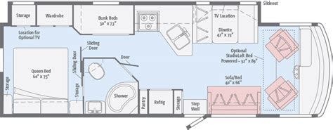 Vista  Floorplans  Winnebago Rvs
