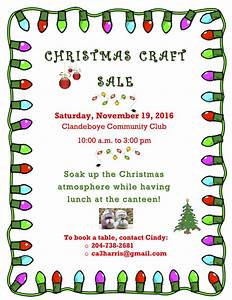 Christmas Craft Sale 2016 - Clandeboye Community Club