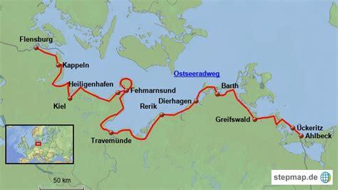 größe deutschland ostseeradweg fahrradtouren in deutschland