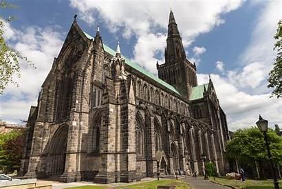 Glasgow Cathedral Gotische Schottisch Typisch Letzte Kathedrale