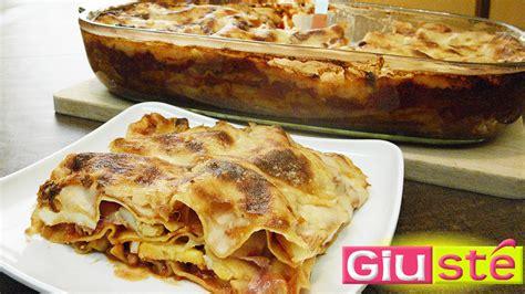 cuisine sicilienne traditionnelle recette de lasagnes à la sicilienne giusté cuisine