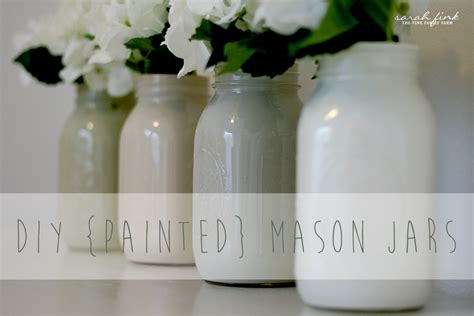 easy diy painted mason jars fink family farm