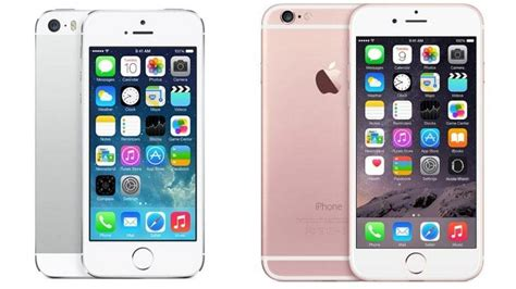 iphone 5s vs 6s iphone 6s vs iphone 5s comparison review macworld uk