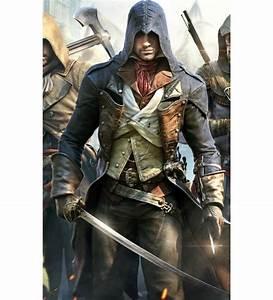 Assassin's Creed Unity Arno Dorian Leather Costume Jacket