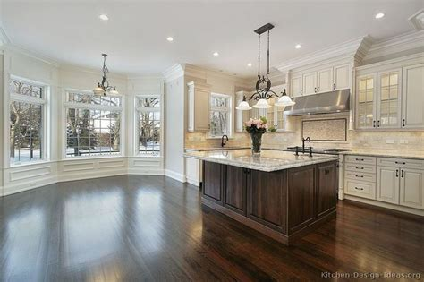 Kitchens With Cabinets And Floors by Kitchen Cabinets Traditional Two Tone 212 S41064235x2