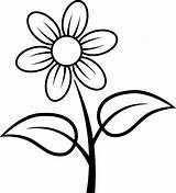 Fleur Coloriage Simple Facile Fleurs Dessin Colorear Dibujos Flores Dessiner Une Svg Flower Marguerite Beaumont Ab Easter Gratis Coloring Enforcement sketch template