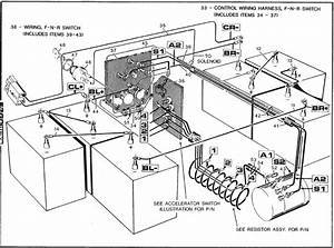 2001 Ez Go Gas Engine Wiring Diagram