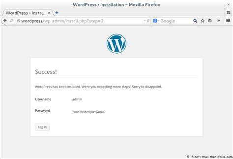 install wordpress   fedora  centosrhel