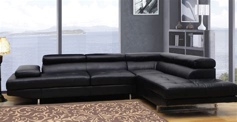 Global Sofa by Global Furniture Usa 8136 Sectional Sofa Bonded Leather