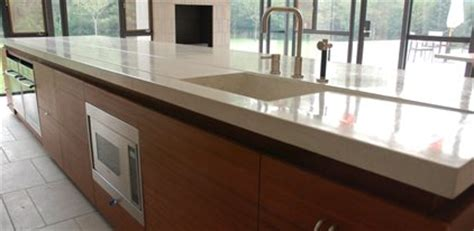 thickness and weight implications for concrete counters