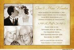 beautiful love 50th anniversary invitation couple39s two With 50th wedding anniversary invitations vistaprint