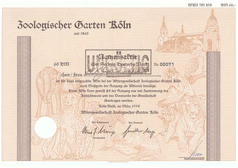 Zoologischer Garten Dm by Lose 201 300 Deutschland I