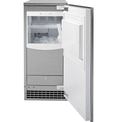ge uccnjii freestanding  built  ice maker