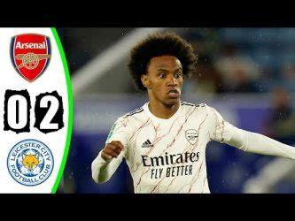 DOWNLOAD Video: Leicester City 0 – 2 Arsenal (Carabao Cup ...