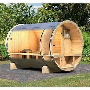 Sauna Für Garten : fass sauna kotka 2 rund 216 x 280 x 216 f r garten schwimmbad online shop ~ Markanthonyermac.com Haus und Dekorationen