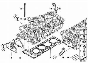 Original Parts For F01 750i N63 Sedan    Engine   Cylinder Head Attached Parts