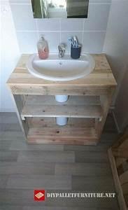 mueblesdepalets net mueble para lavamanos hecho con