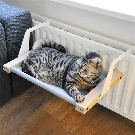 Cat In Hammock by Woozy The Hammock Bed For Cats 187 Gadget Flow