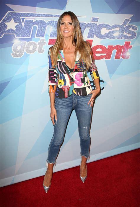 Heidi Klum America Got Talent Season Live Show