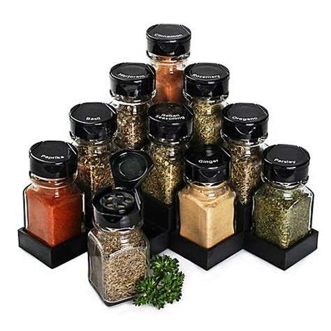 Thompson Spice Rack by Olde Thompson 10 Jar Corner Spice Rack Bed Bath Beyond