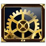 Icon System Preferences Icons Cool Steampunk Preference