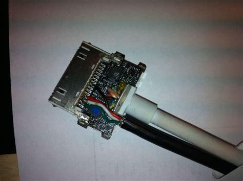 adding usbcharging  ipad vga adapter  steps