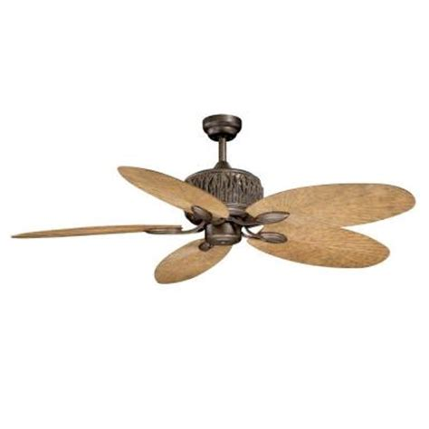 home depot ceiling fans outdoor aireryder aspen 52 in weathered patina indoor outdoor