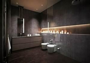 Bad Luxus Design : mehr als 150 unikale wandfarbe grau ideen ~ Sanjose-hotels-ca.com Haus und Dekorationen