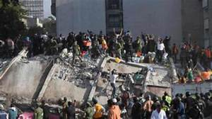 Mexico: Strong earthquake topples buildings, killing ...