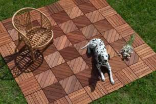 Acacia Deck Tiles by 22 Composite Flooring Concepts To Bring Contemporary Style