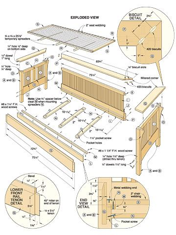 woodwork woodworking sofa plans  plans