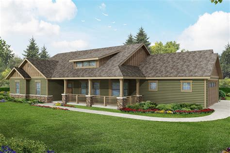 ranch house plans brightheart    designs
