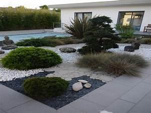Deco Jardin Japonais : jardin japonais bordure jardin decoration jardin japonais ~ Premium-room.com Idées de Décoration