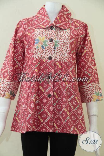 Baju profesi untuk anak anak. Baju Batik Cantik Dan Trendy Warna Merah Untuk Wanita Muda ...