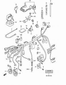 Wiring Harness For 1999 Suzuki Lt