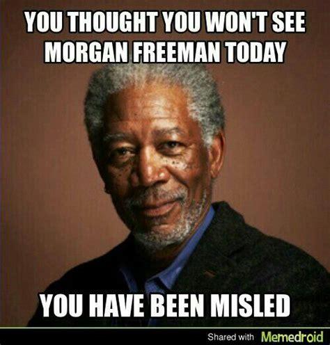 Morgan Freeman Meme - pin by rj may on funny stuff and stuff pinterest