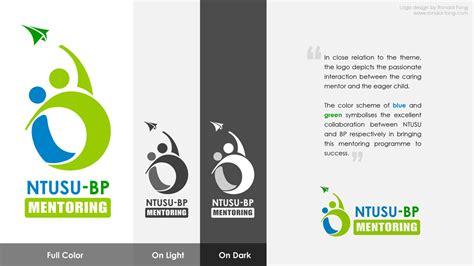 won ntusu bp mentoring logo competition ronald fong