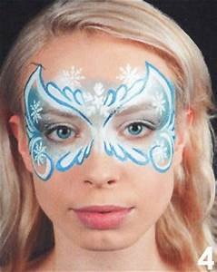 Karneval Schminken Tiere : eisprinzession kinderschminken schminken anleitung tipps motive vorlagen ~ Frokenaadalensverden.com Haus und Dekorationen