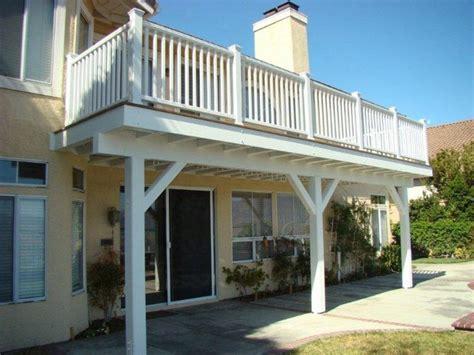 trex balcony deck master bedroom