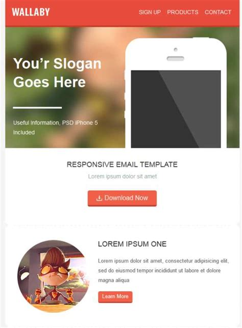 mailchimp ecommerce templates top 50 best responsive email marketing newsletter templates 2015