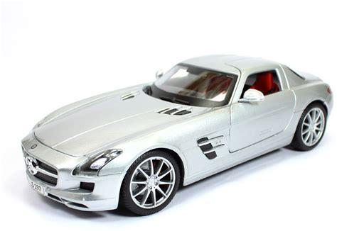Watch list expand watch list. MAISTO Mercedes Benz SLS AMG Silver 1:18 by Maisto Diecast Scale Model Car - Mercedes Benz SLS ...