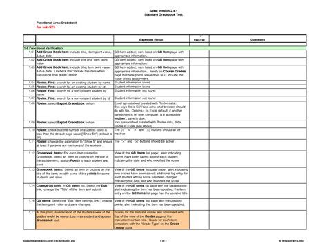 simple test plan template test plan template lisamaurodesign