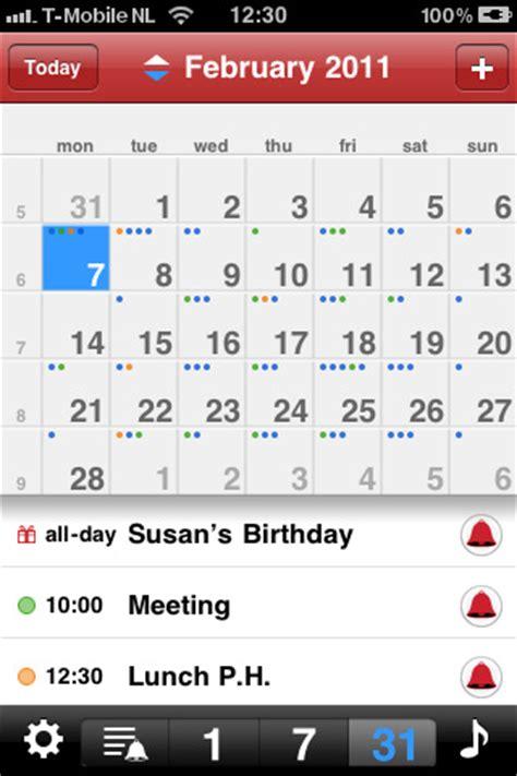 best iphone calendar app top calendar apps for iphone ipad iphone calendars Best
