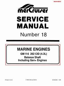 Merc Service Manual 18 4 3 Engines