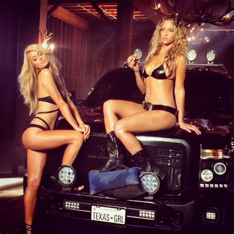 Paris Hilton and Model Hannah Ferguson Get Busy In New ...