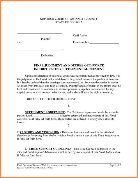 marital settlement agreement template 6 marital settlement agreement marital settlements information