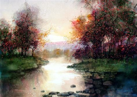 Beautiful Watercolor Landscapes (12 Pieces)  My Modern Met